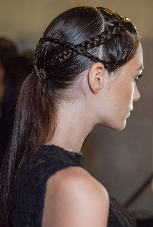 Fine 2014 Hair Trends Braided Ponytail For Women Pretty Designs Hairstyles For Men Maxibearus