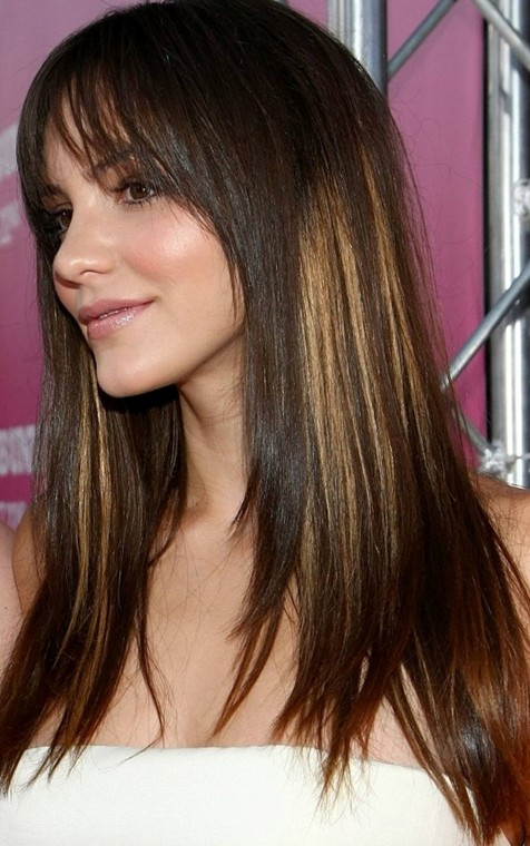 Hairstyles For Long Hair Highlights : Beautiful Straight Hairstyles For Long Hair 2014 Long Straight ...