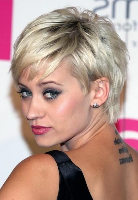 2014 Short Pixie Cut for Thin Hair