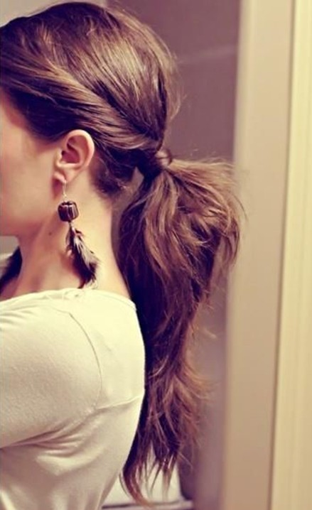 2014 Twisted Loose Ponytail for Girls