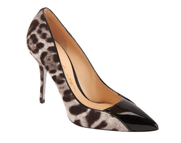 Alberto Moretti Leopard Pointed-Toe Pump