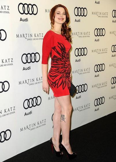 Alexandra Breckenridge Style