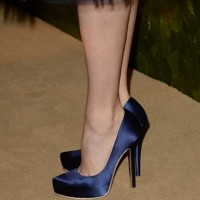 Amy Adams' Platform Pumps