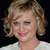Amy Poehler's Short Curly Hairstyle: Wavy and pretty