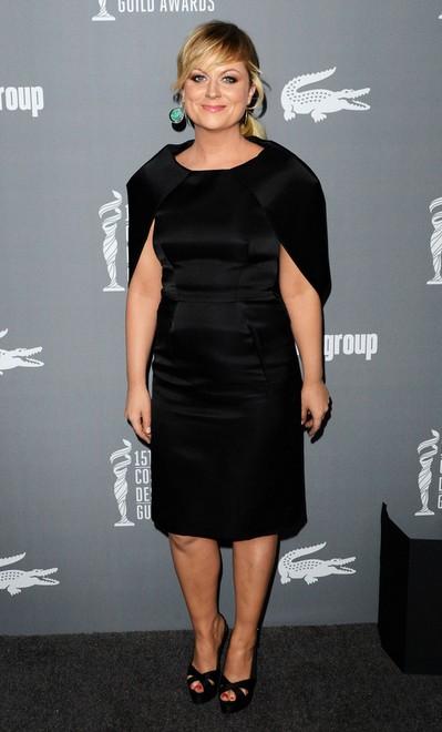 Amy Poehler in Her Slingbacks