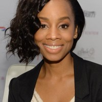 Anika Noni Rose's Short Curly Hairstyle: Fantastic