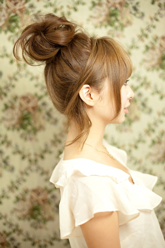 The Easiest And Simplest Hairstyle 11 Top Knots Pretty