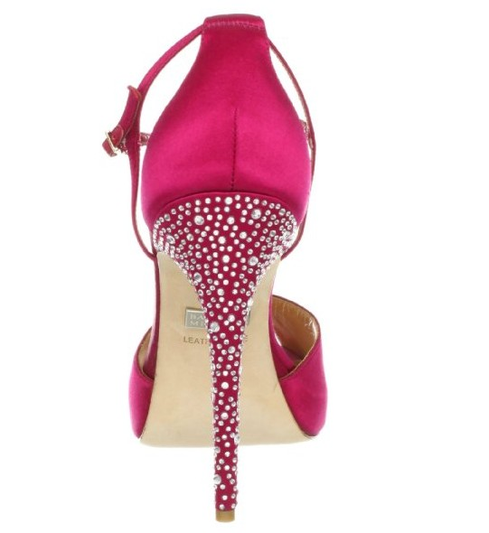 Back View of the Badgley Mischka Women's Violetta Platform Pump