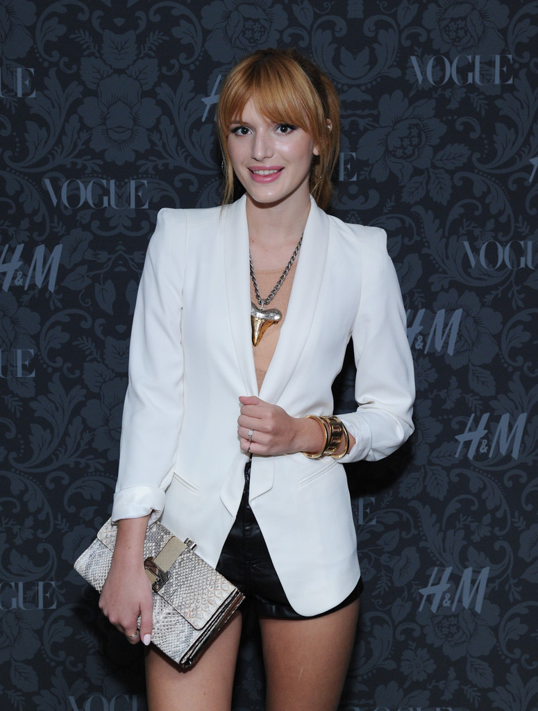 Bella Thorne's Leather Clutch