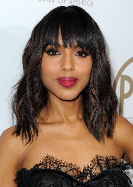 Black Hairstyles for women: Cute Tousled Curly Hairstyle for Black Women