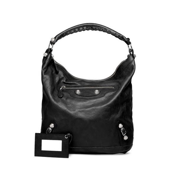 Black cool handbag