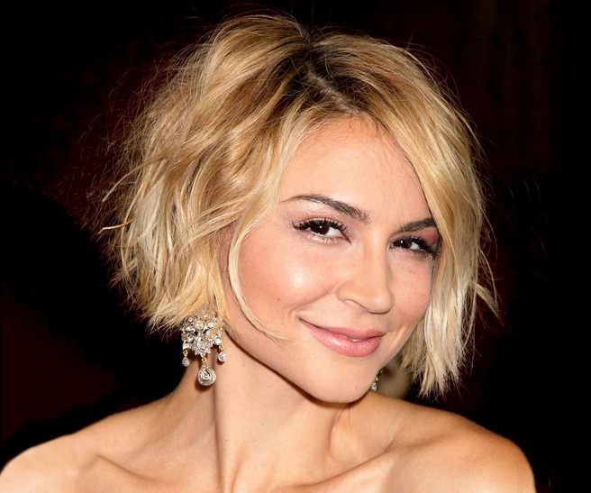 Blond Bob Haircut