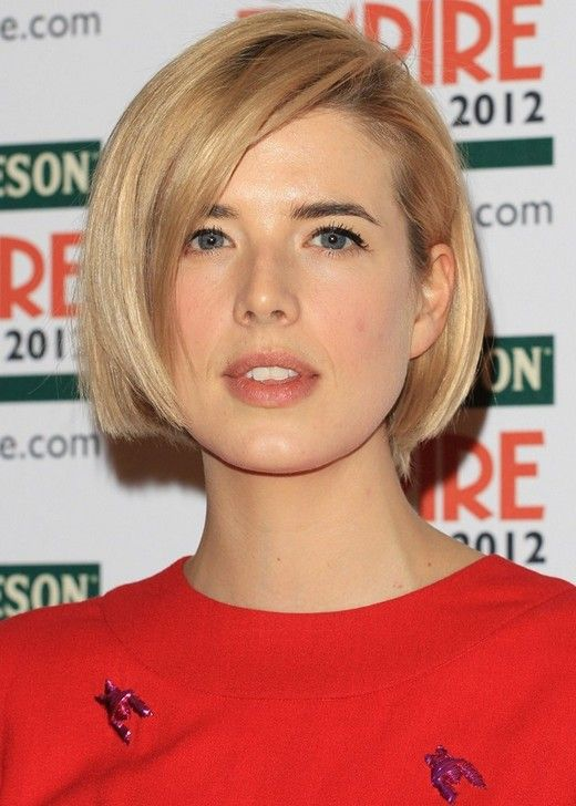 Blond Straight Bob Haircut