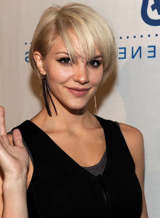 Admirable 15 Chic Short Hairstyles For Thin Hair You Should Not Miss Short Hairstyles Gunalazisus