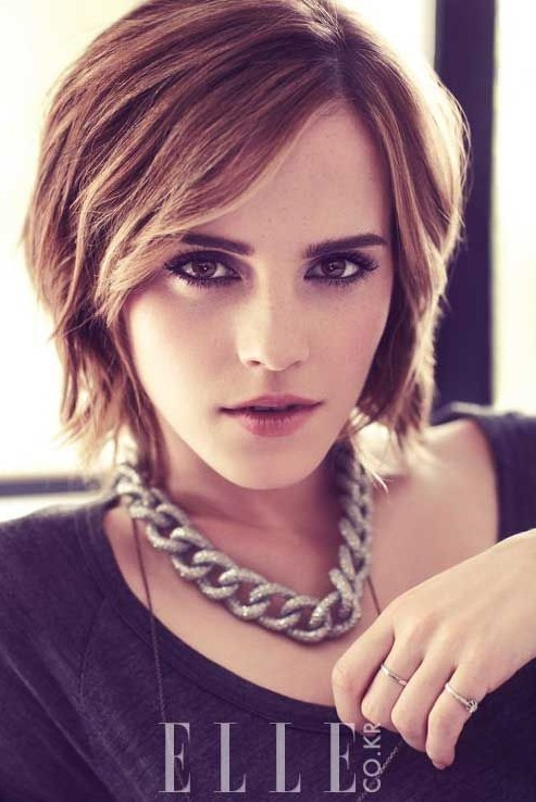 Bob Haircuts for 2014 Stylish Layered Short Bob Hairstyle with Bangs Prett