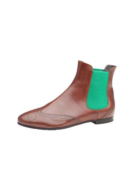 Botties for Fall 2013 By AGL in Brown and Green