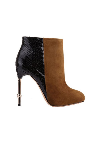 Botties for Fall 2013 By Alexandre Birman in Black and Camel
