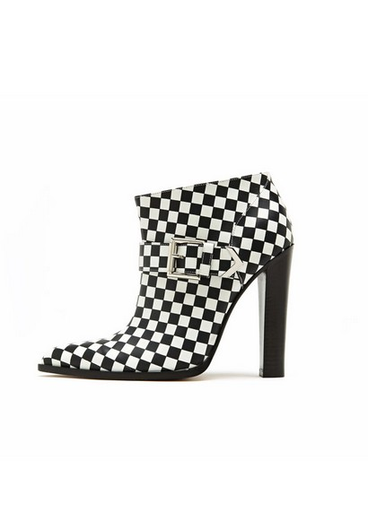 Botties for Fall 2013 By Aluzarra in the Pattern of Black and White Squares