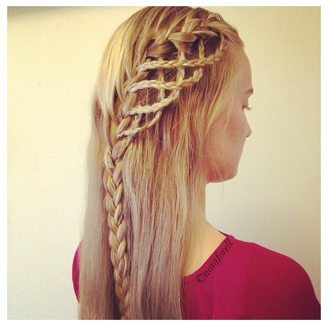 Astounding Braid For Girls Amazing Braided Hairstyle For Long Hair Pretty Hairstyle Inspiration Daily Dogsangcom