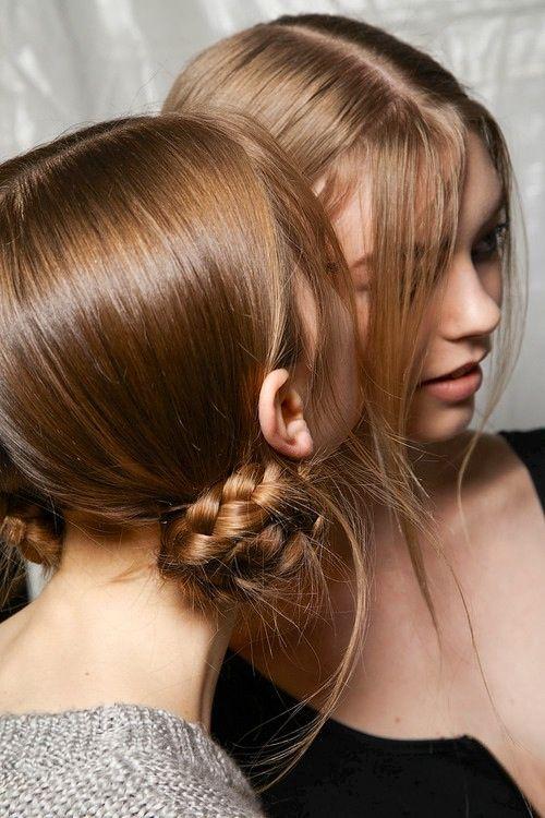 Braided Bun Hairstyle