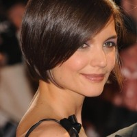 Brunette Short Bob Hairstyle