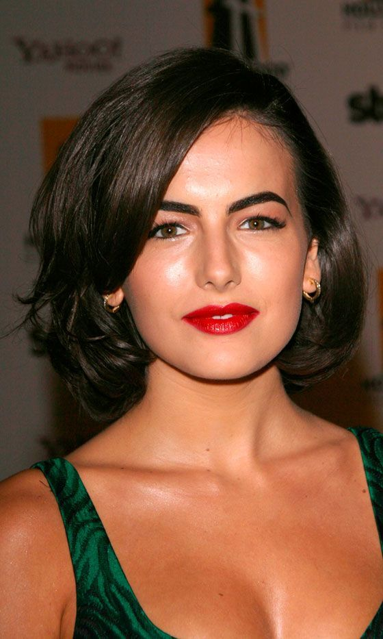 Beautiful Camilla Bell Bob Haircut