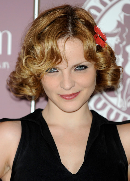 Carolina Bona Short Hairstyles: Lovely Bob with Voluminous Curls