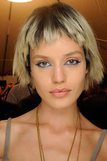 Casual Chopped Short Ombre Straight Bob Hairstyle