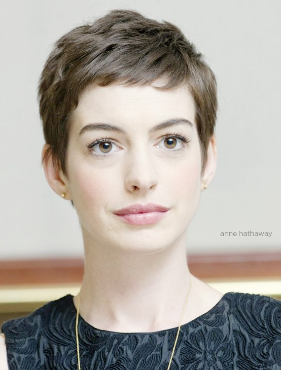 Celebrity Pixie Cut