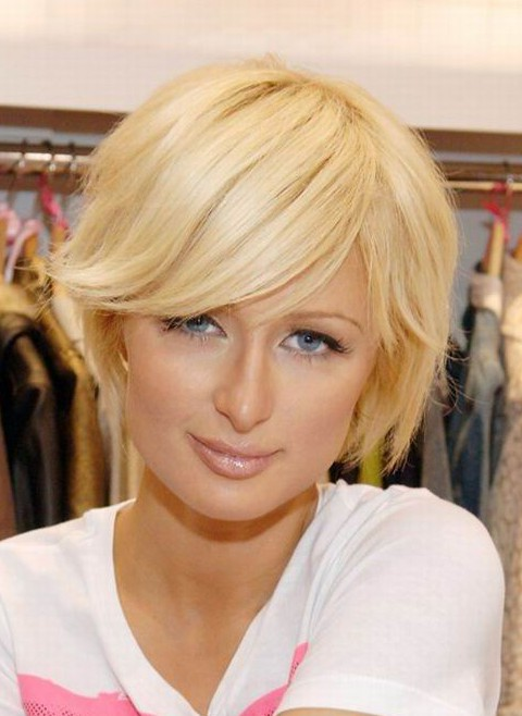 Celebrity Short Bob Hairstyle for Thin Hair