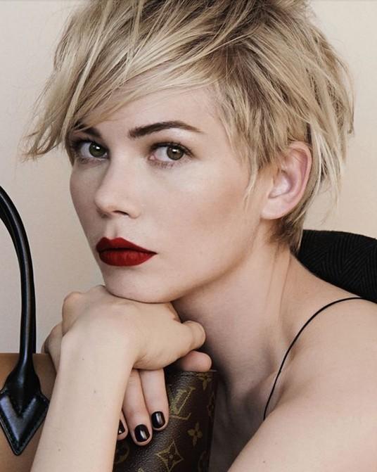 Celebrity Short Pixie Cut Trends 2014: Cute Short Cut with Bangs