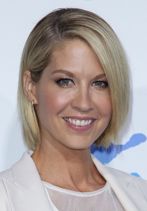Pleasant Celebrity Short Straight Bob Hairstyle With Bangs For 2014 Short Hairstyles Gunalazisus