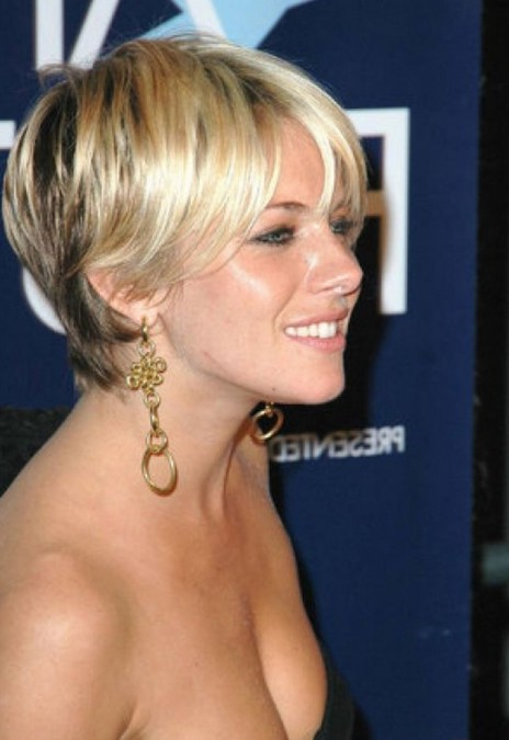 china bangs hairstyles : Chic Short Haircut for Thin Hair