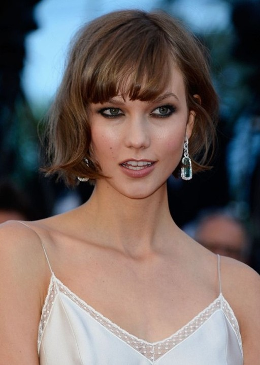 Wavy Choppy Hairstyles : Choppy short wavy hairstyle with wispy bangs pretty designs