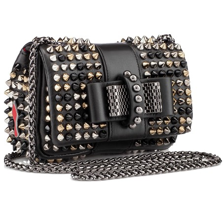 Christian Louboutin Fall 2013 Handbag black and gold rivet p2