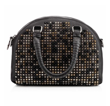 Christian Louboutin Fall 2013 Handbag black andgold rivet