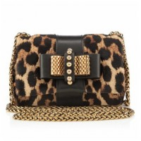 Christian Louboutin Fall 2013 Handbag gold leopard