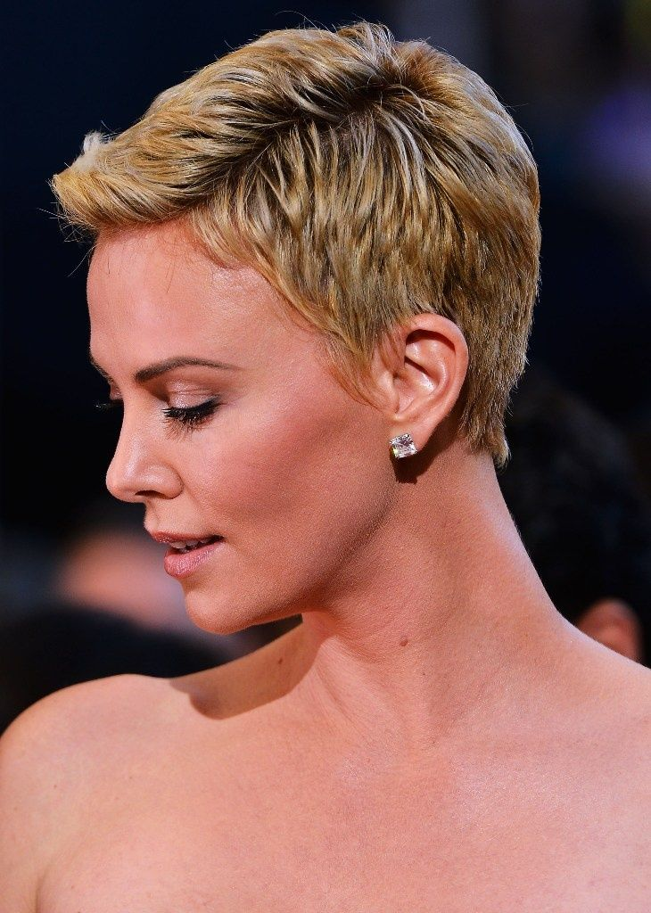 Cool Short Blond Closely Cut Hairstyle