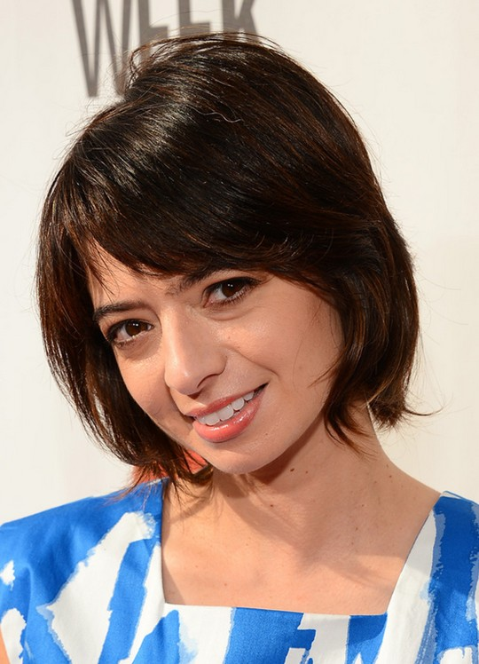 Cute Layered Short Haircut for 2014: Short Bob cut with Bangs