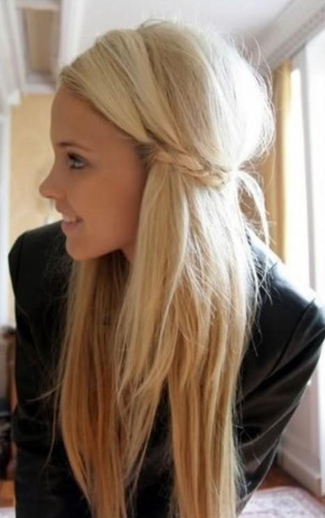 Surprising Cute Easy Hairstyles Cute Simple Easy Hairstyle For Girls Pretty Short Hairstyles Gunalazisus