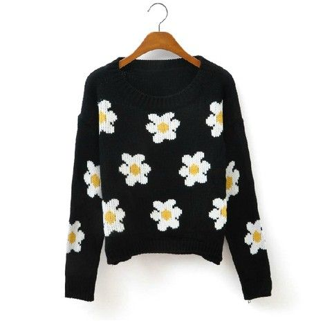 Daisy Sweater for Fall