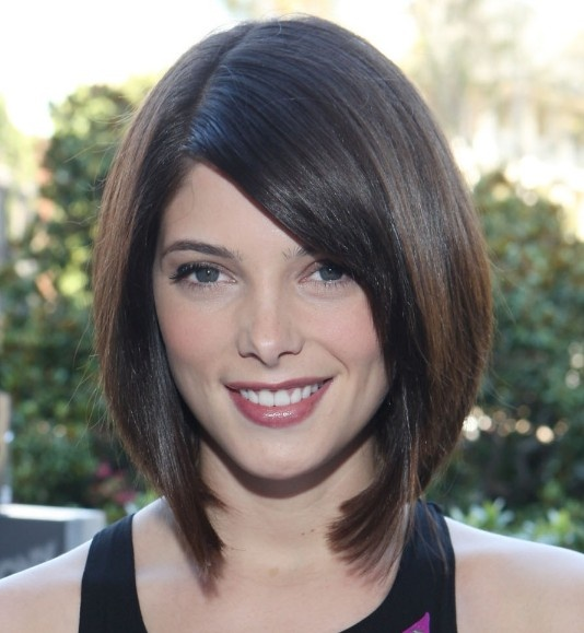 Dark Color Bob Haircut