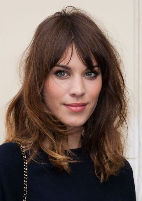 Easy Daily Hairstyle for 2014: Medium Messy Hairstyle for Women