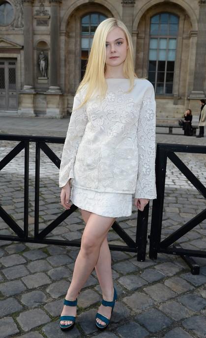 Elle Fanning's Platform Sandals