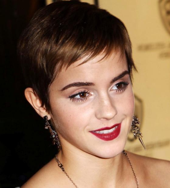 Emma Watson Charming Pixie Cut