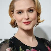 Evan Rachel Wood's Short Curly Hairstyle: Retro and Pretty