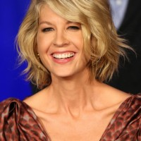 Fashionable Short Wavy Haircut 2014
