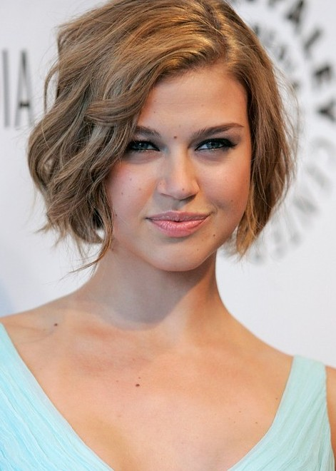 Fashionable Short Wavy Haircuts 2014