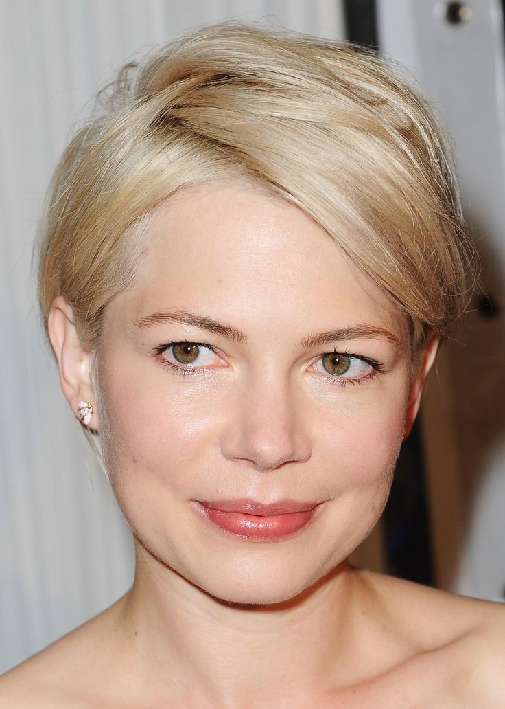 Short Hairstyle for Round-shaped Women