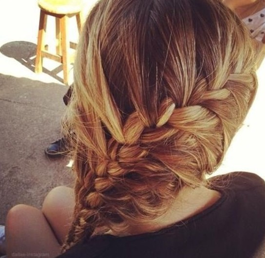 Brilliant Braiding Hairstyles Ingenious Braided Hair Styles 2014 Pretty Hairstyles For Men Maxibearus